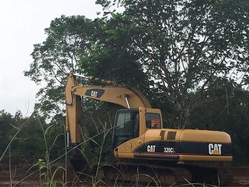 excavadora caterpillar 320 cl año 2006