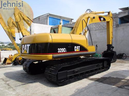 excavadora caterpillar 320c 2001