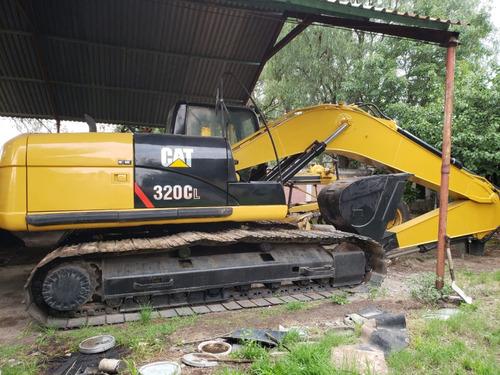 excavadora caterpillar 320cl año 2006