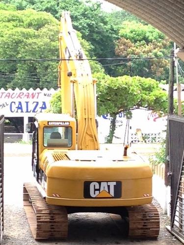 excavadora caterpillar 320cl año 2006 importada pocas horas