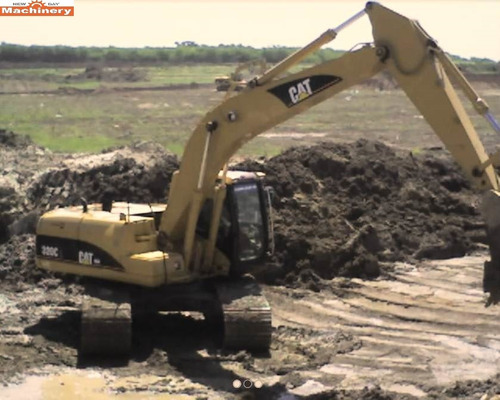 excavadora caterpillar 320cl (id566)