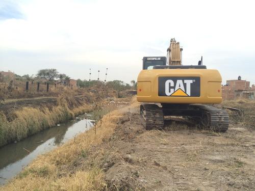 excavadora caterpillar 320d