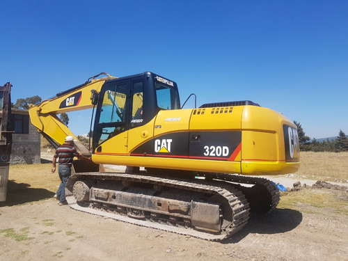 excavadora caterpillar 320d año 2010
