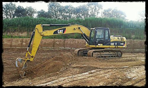 excavadora caterpillar 320d año 2011   10 mil hs maquinasjm