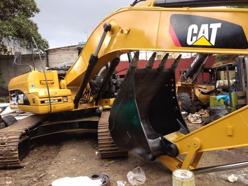 excavadora caterpillar 320d año 2013