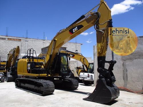 excavadora caterpillar 320el año 2012 recien importada, kit