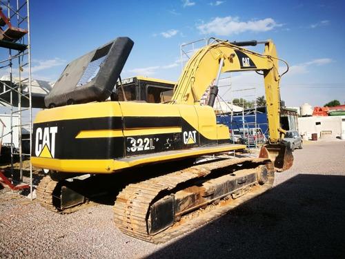 excavadora caterpillar 322 l serie 9rl00699