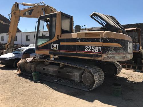 excavadora caterpillar 325bl año 1998