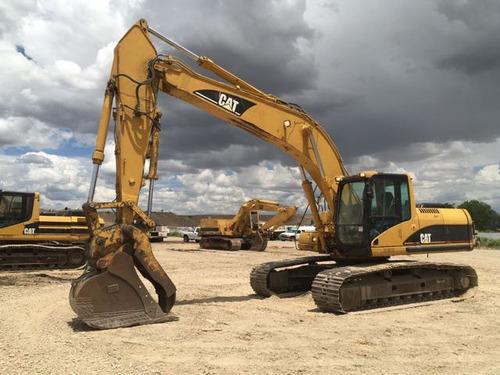 excavadora caterpillar 325cl kit martillo pulgar hidraulico
