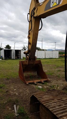 excavadora caterpillar 326 d2l modelo 2015 con 10289 horas