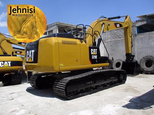 excavadora caterpillar 329el 325dl 330dl recien import 2011