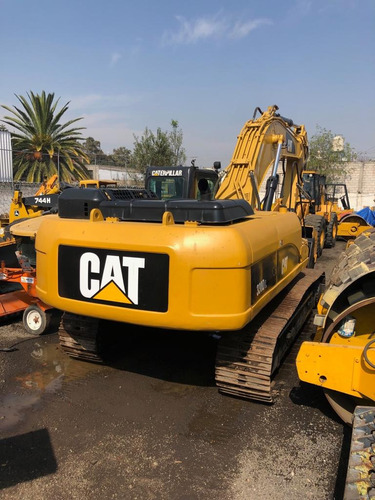 excavadora caterpillar 330d dl 2008 moderna importada buena