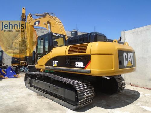 excavadora caterpillar 330dl 2006 recién importada