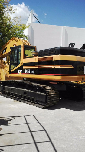 excavadora caterpillar 345 b  l m e