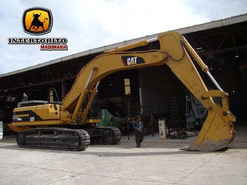 excavadora caterpillar 345 bl 2004 cat 345cl 336dl