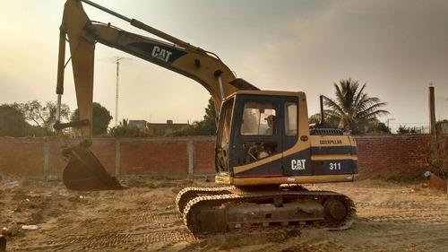 excavadora caterpillar modelo 311 año 1993
