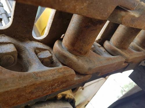 excavadora caterpillar modelo 320d año 2010