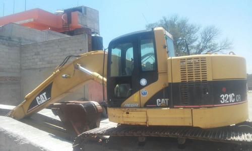 excavadora caterpillar modelo 321c año 2007