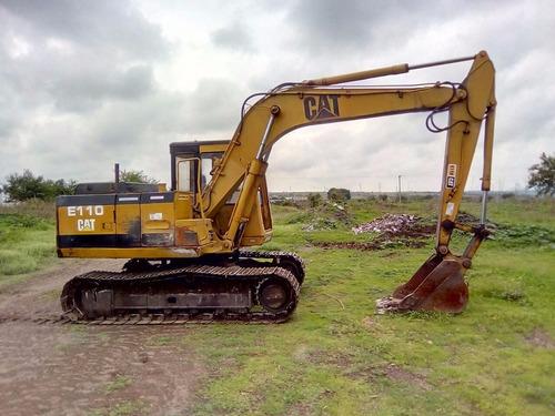 excavadora caterpillar modelo e110 año 1988