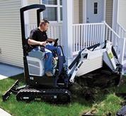 excavadora compacta bobcat 418