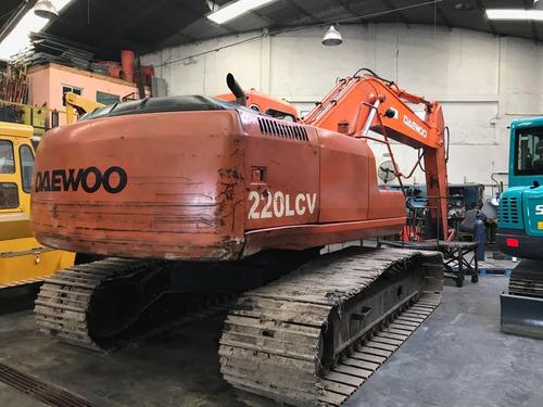 excavadora daewoo 220 lcv