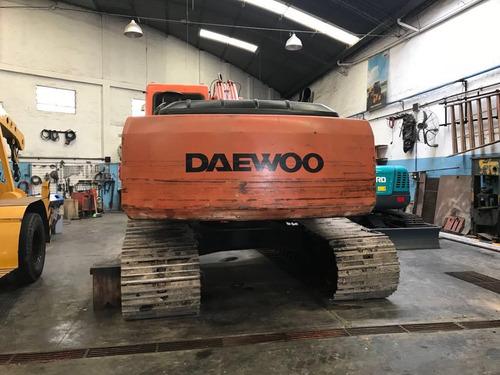 excavadora daewoo usada 220 lcv
