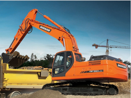 excavadora doosan nueva dx260