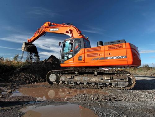 excavadora doosan nueva dx300