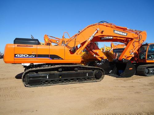 excavadora doosan nueva dx520