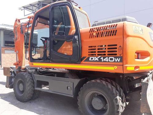 excavadora dx140w