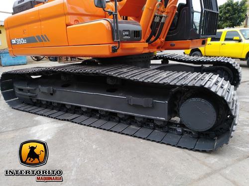 excavadora dx350 lc-3 2013 doosan caterpillar 345cl 330dl