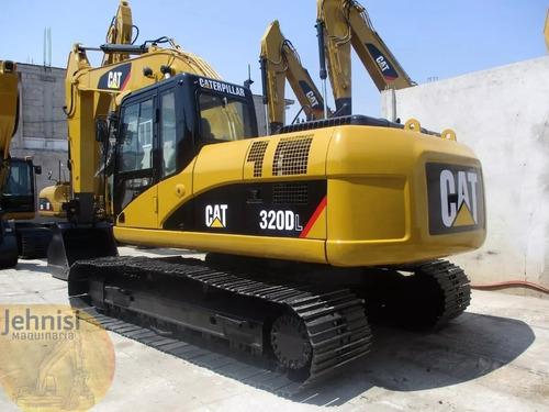excavadora hidraulica cat 320dl 2010 y 320dl rr recien impor