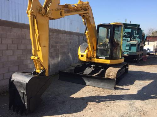 excavadora hidráulica caterpillar 308 bsr