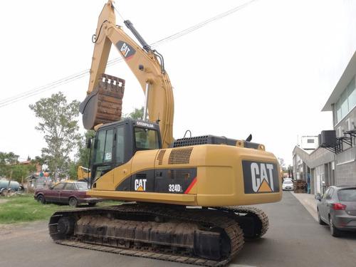 excavadora hidraulica caterpillar 324 dl 2010 seminueva
