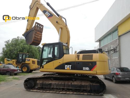 excavadora hidraulica caterpillar 324dl