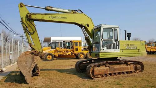 excavadora hidráulica hydromac h145 europa   bremotors