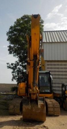 excavadora hidraulica sobre orugas