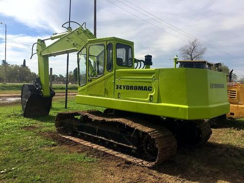 excavadora hydromac h115 balde 1m3  15tn financiada maqhd