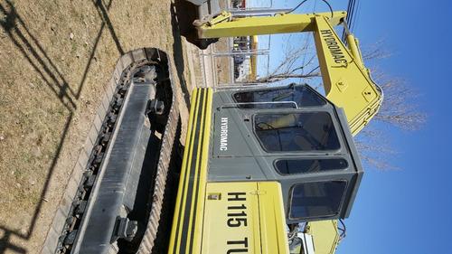 excavadora hydromac h115 turbo   tomo permuta bremotors