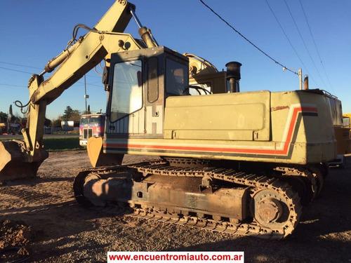 excavadora hydromac h145 perkins financio 100% multicars