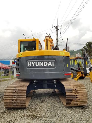excavadora hyundai 145lcr-9 año 2014 importada!!!
