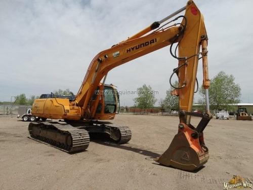 excavadora hyundai r210lc-3 con kit p/martillo igual 320 cat