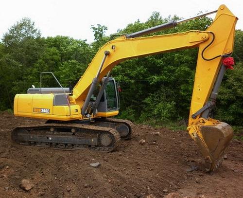 excavadora iron 265e