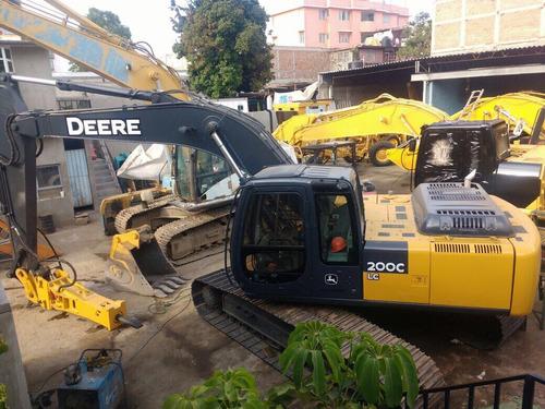 excavadora john deere 200c lc
