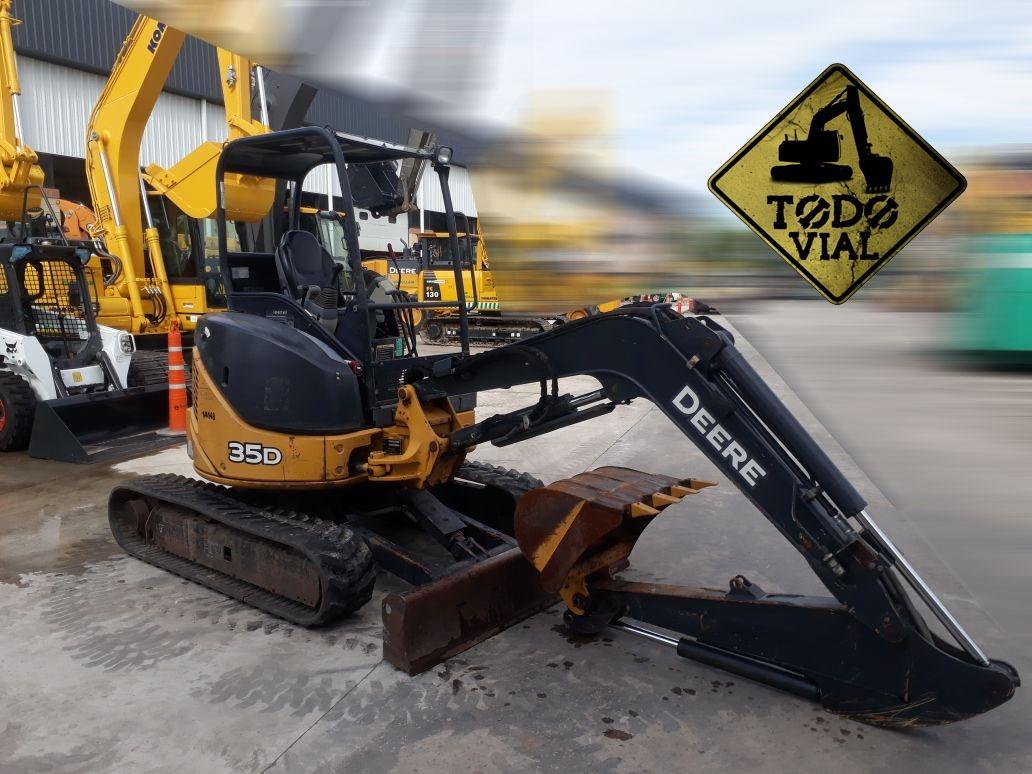 Excavadora John Deere 35g 2016 1600hs 40% Y 10 Ch  Todo Vial - $ 38 900,00