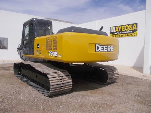 excavadora john deere 790 elc equivalentea 320 cat 42000 dll