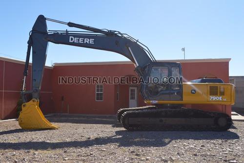 excavadora john deere 790elc  case caterpillar volvo komatsu