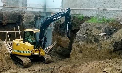excavadora john deere 85d año 2014