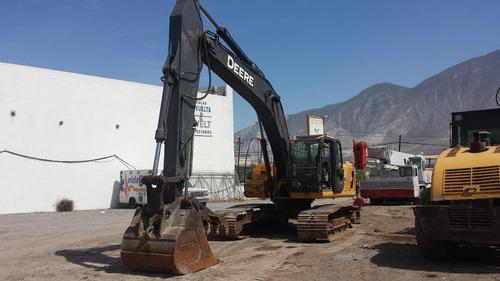 excavadora john deere240 dlc con cabina y kit para martillo