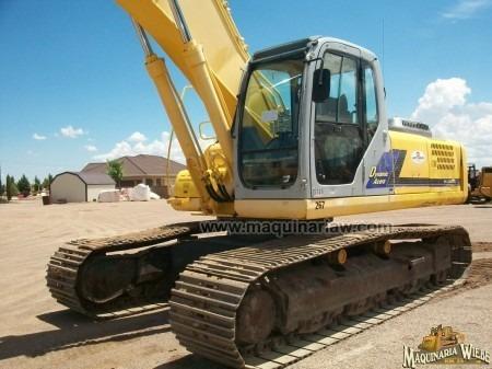 excavadora kobelco sk 330lc con kit para martillo